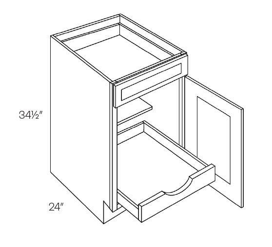 Single Door & Drawer Base Cabinets 1 POS