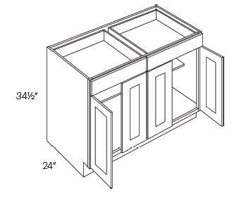 2 Drawer 4 Door Base Cabinets